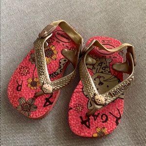 Baby girl Havaianas flip flops